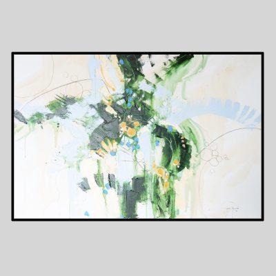 'Shoreline: Sea Green' by Gerry Halpin