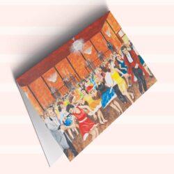 'The Tudor Ballroom, Chorley, Early 1960's' by George Horsfield. Greeting Card.