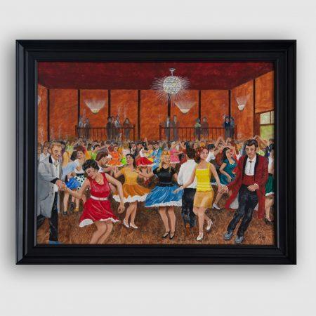 'The Tudor Ballroom, Chorley, Early 60's' by George Horsfield