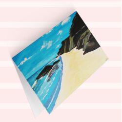 'Meeting Point' Fine art cards by Lisa Joli Art