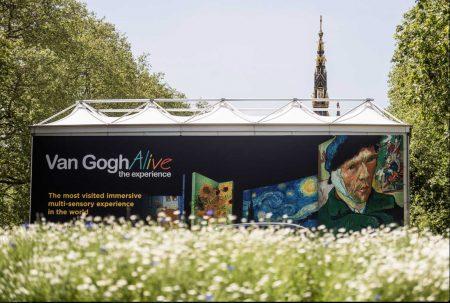 Van Gogh Alive at Kensington Gardens