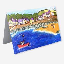 'Newport Bay' Fine art cards by Lynartwales