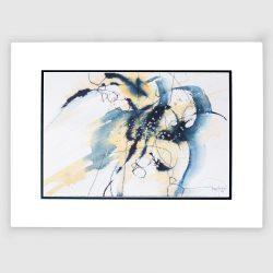 'Flight'. Original painting by Gerry Halpin