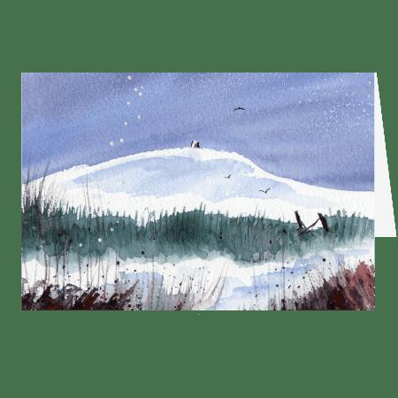 The Gate, Rivington Pike. A fine art card by Rosie Rimmer